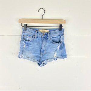 Hollister Vintage High Rise Shorts Size 23